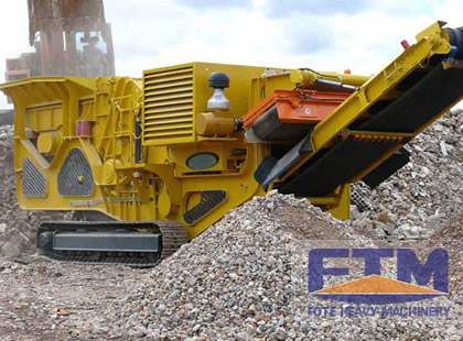 Crawler Type Mobile Crusher