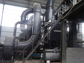 Superfine slag powder production line