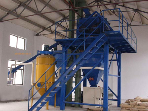 200,000T/Y Dry mix mortar plant