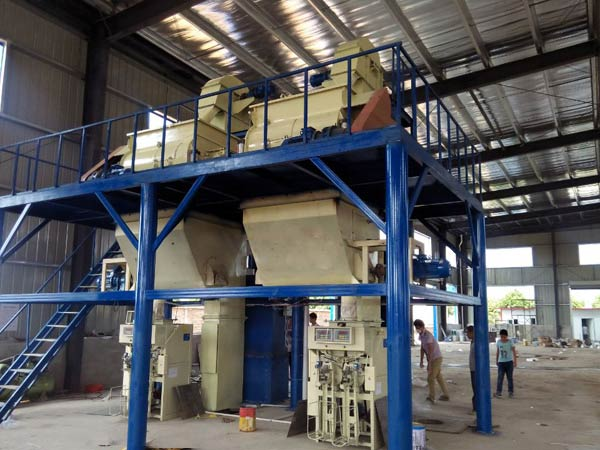 400,000T/Y Dry mix mortar plant