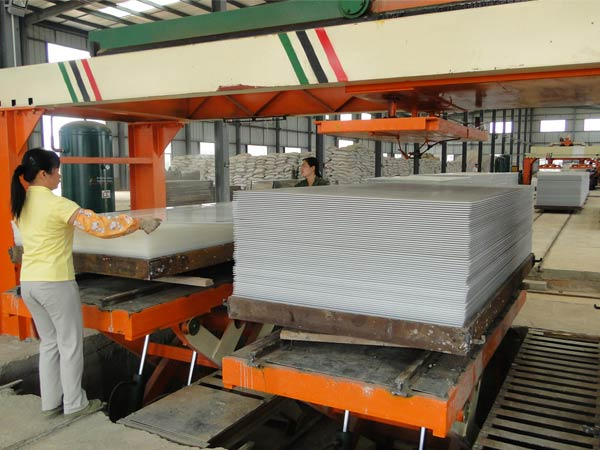Calcium silicate board production line