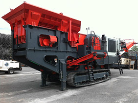 Crawler Mobile Impact Crusher