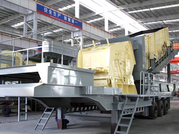 Wheel Mobile Impact Crusher