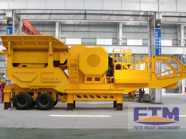 Wheel Mobile Crushing and Screening Plant
