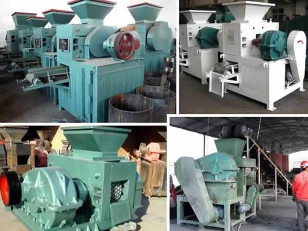 Energy-saving briquette machine