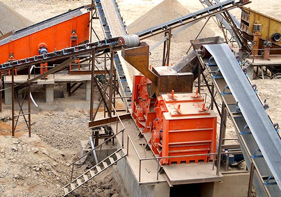 150T/H impact crusher for quarry in Indonesia