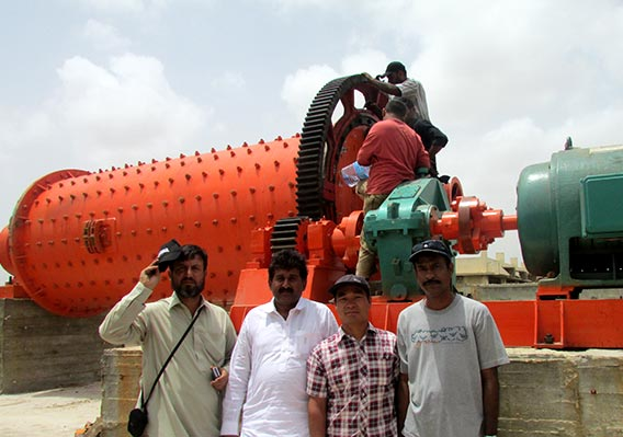 Ball mill for copper ore processing in India