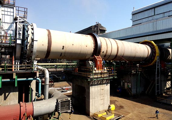 14t/h rotary dryer for copper ore in Iran