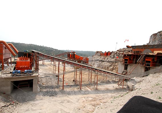 50t/h stone crushing plant for granite in Iran