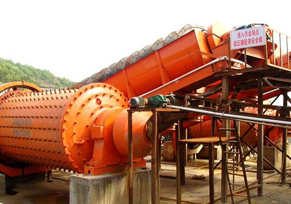 Gold and silver ore spiral classifier installed in Zambia